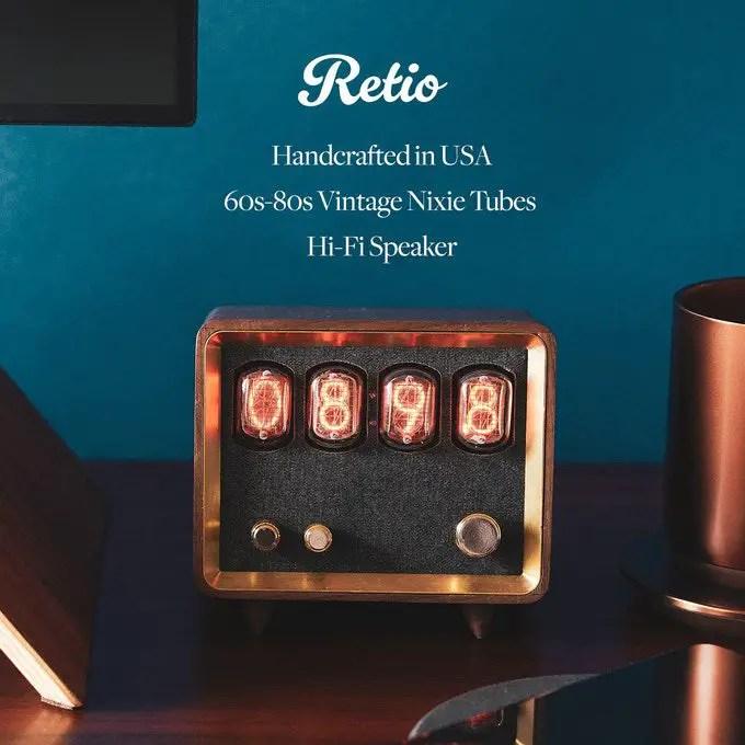 Now Funding: Retio Retro Radio Speaker
