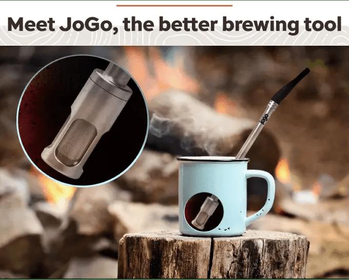 Now Funding: JoGo Coffee Brewing Straw