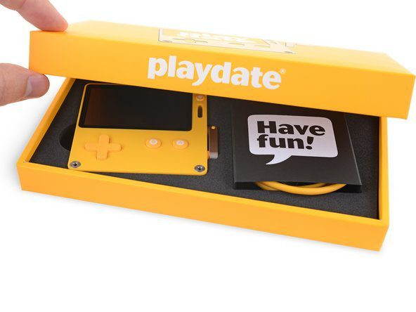 Inside the Playdate handheld game console