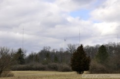 03.12 - In the Distance. TV antennas stretch skyward