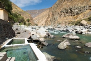 Hot springs i Colca