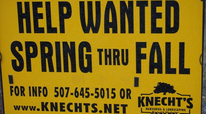 Knecht's Nurseries & Landscaping is hiring!