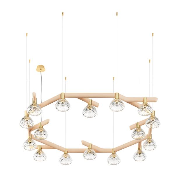 saint louis folia 16 light chandeliers