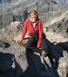 Marta mountaineering