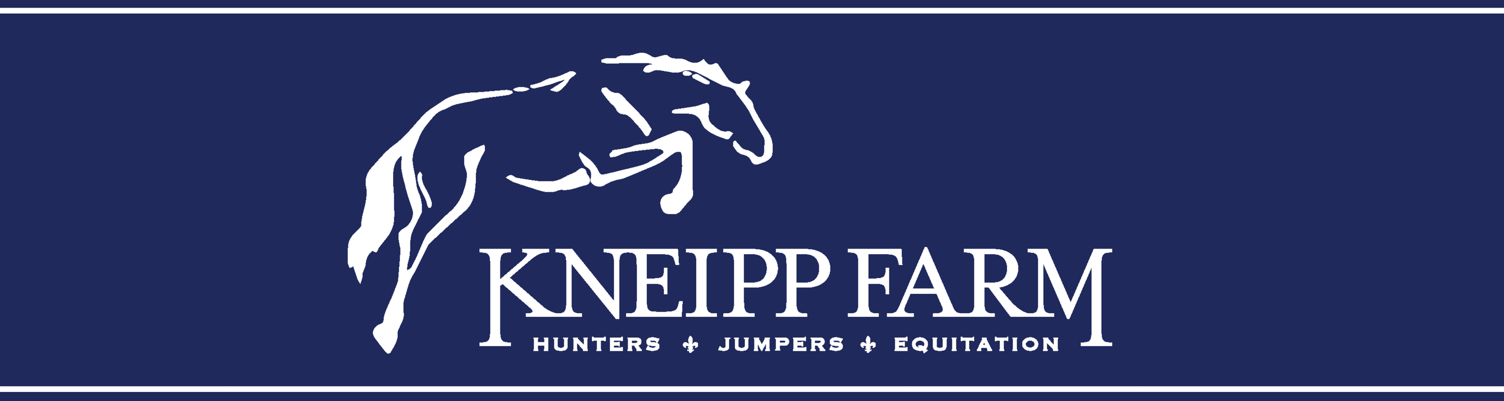 Kneipp Farm – Full service Hunter, Jumper, Equitation and horse boarding Barn