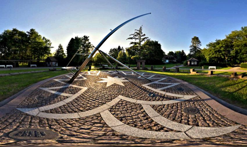 Grösste Sonnenuhr Europas in Bad Bevensen