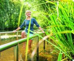 Wassertreten im Kneippverein Bad Bevensen