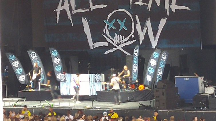 All Time Low opening for Blink 182 in Toronto