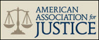 Knepper Stratton American Assoc for Justice Rating