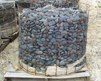 Mexican Beach Pebbles 1%22 to 2%22 stones