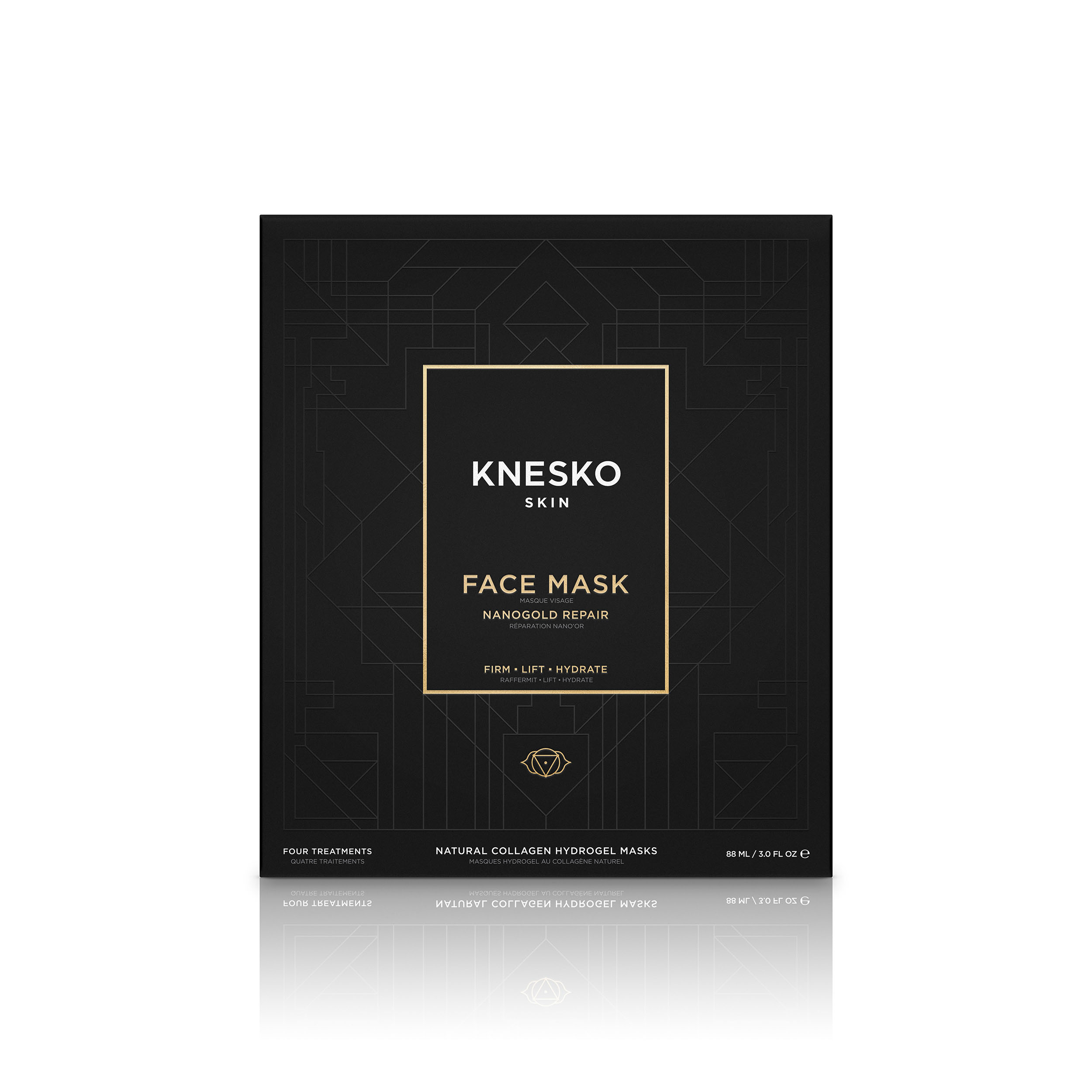 kensko nanogold repair face mask box