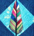 this feather was one of my first paper pieced blocks earlier this year