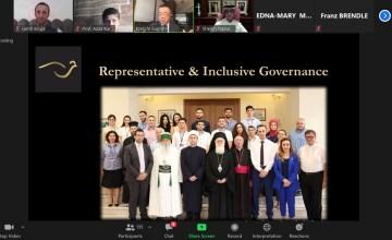 """KNFSH pjesë aktive e panelit ndërkombëtar të """"Religions for Peace"""""""