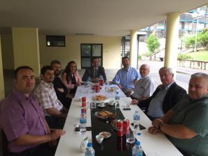Mblidhet Bordi Ekzekutiv i KNFSH-së