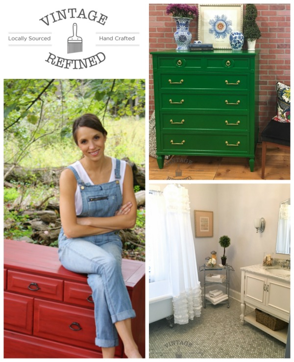Vintage Refined featured blogger at Talk of the Town - KnickofTime.net