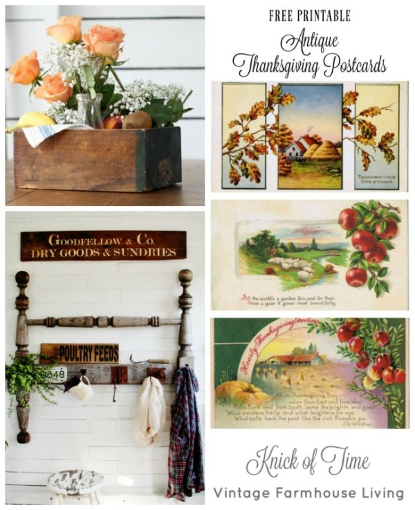 farmhouse style projects Knick of Time
