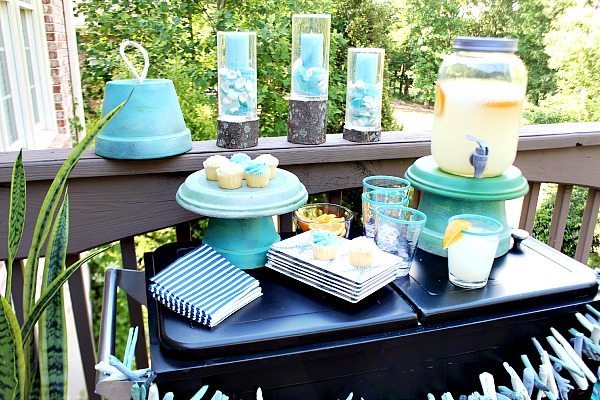 DIY Clay Pots Serving Pieces