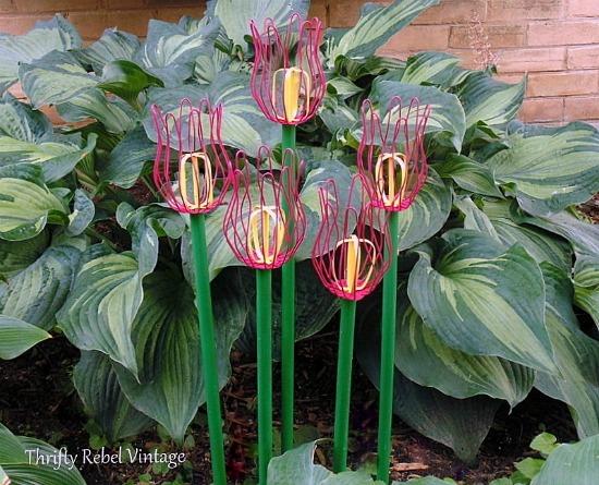 How To Make Repurposed DIY Tulips