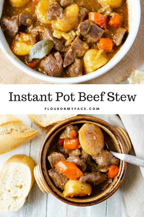 Instant Pot Beef Stew Flor On My Face