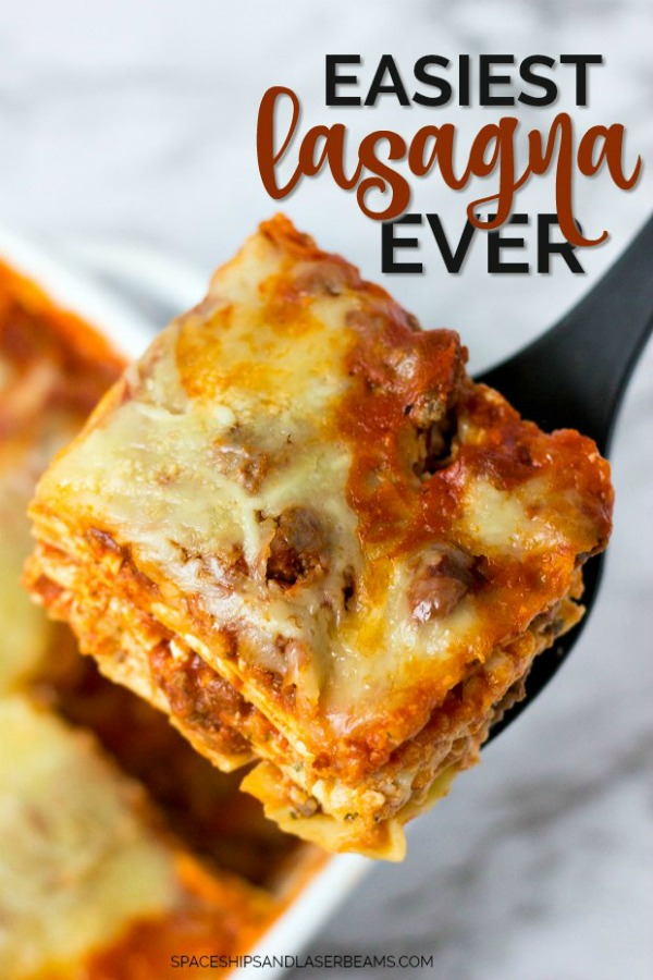 Simple Lasagna Recipe by Spaceships and Laserbeams