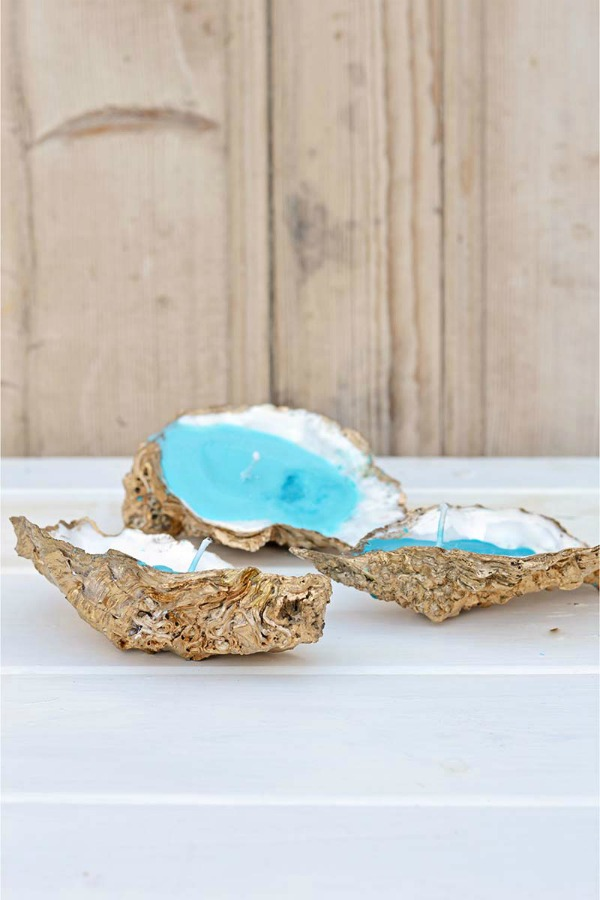 How To Make Handmade Candles With Oyster Shells