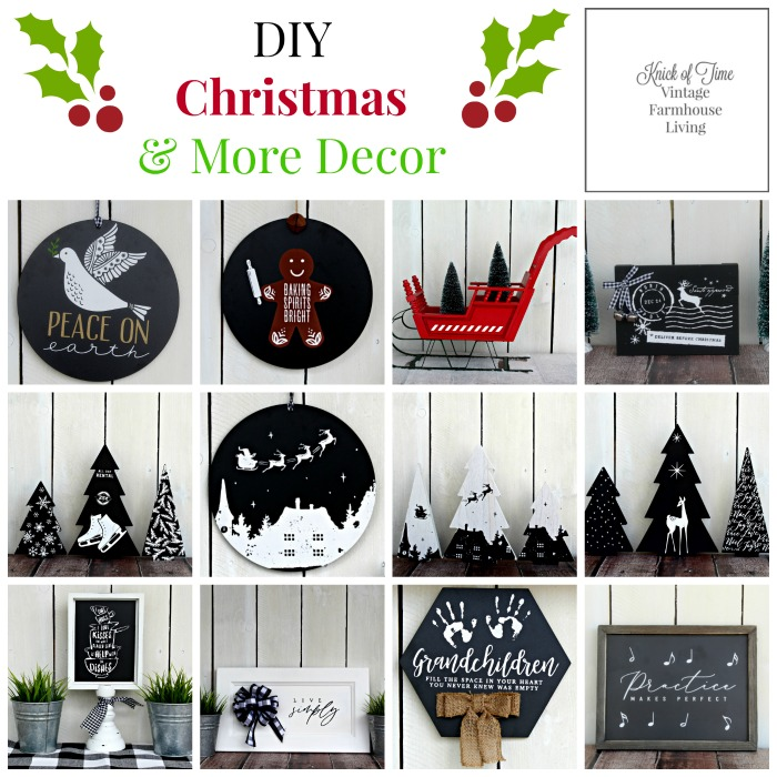 DIY Christmas Decor and More by Knick of Time