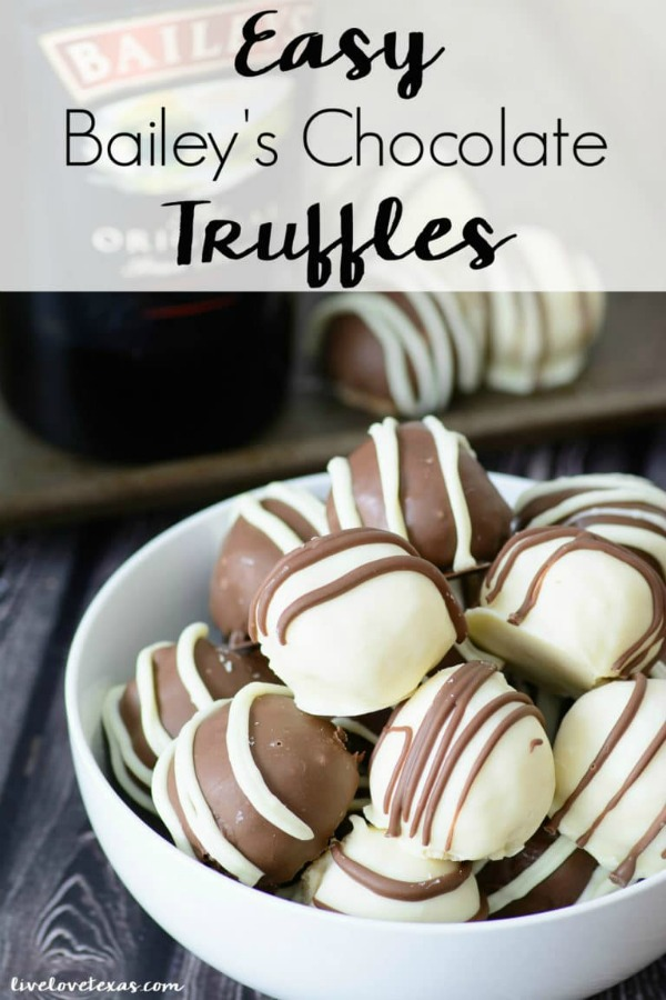 Easy Homemade Bailey's Chocolate Truffle Recipe