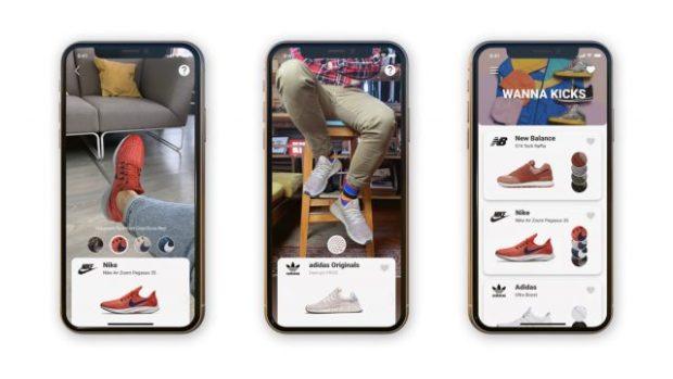 Белорусский стартап Wannaby представил AR-приложение для примерки обуви