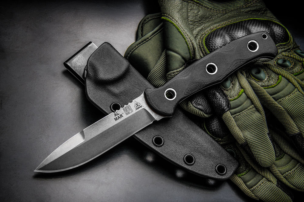 Knife G 10 Handle Scales