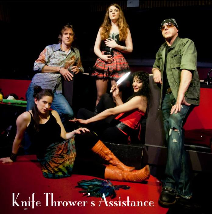 Knife Thrower's Assistance