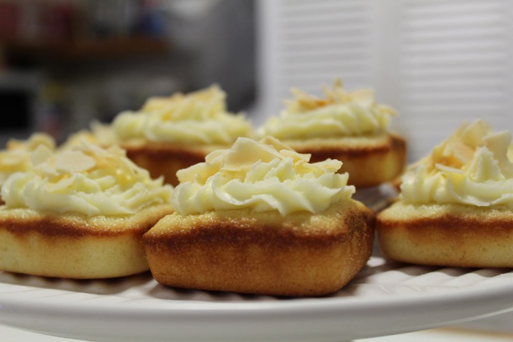 Gluten Free Lime & Coconut Friands