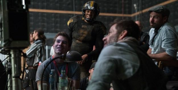 Zack Snyder - Ray Fisher
