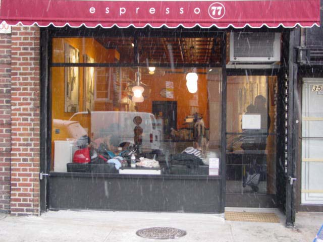 Great, friendly coffee place in JH, Queens.
