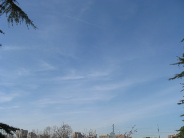Sunny and moderate day today