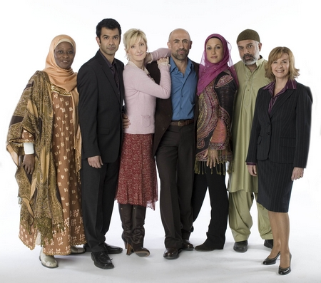 """Cast of """"Little Mosque on the Prairie"""" (a CBC comedy)"""
