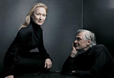 Streep and John Patrick Shanley (playwright)