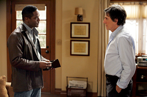 Blair squares off against Gabriel Byrne