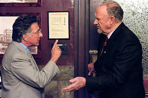 Dustin Hoffman & Gene Hackman act together!
