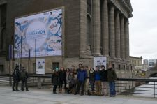 Group in Front of Pergamon Museum, Berlin