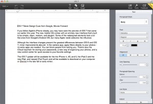 Pages has a totally new look in the browser beta.