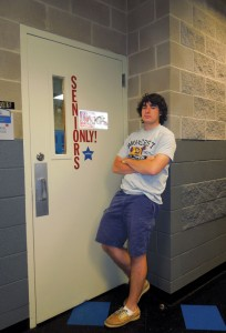 Hunter once said that he had puffins in his locker. Photo: Hayley Silverstein