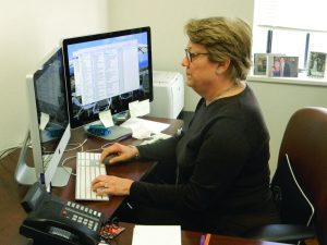 Mrs. Held has worked in the Pace business office since 1997, serving as CFO since 2006. Photo: John Morrison
