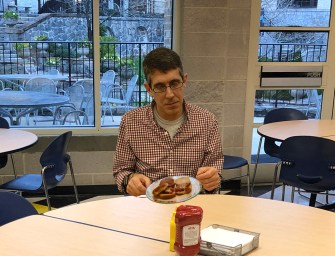 Mr. Smith Tries Pace Lunch for First Time