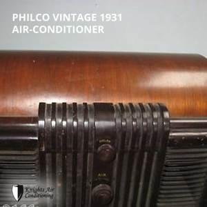 air conditioner - 1931