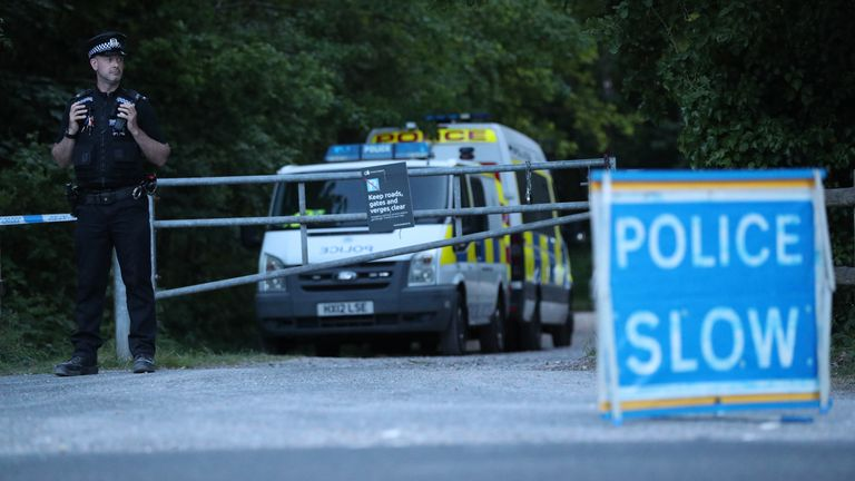 Police confirm body found in woodland is missing teenager Louise Smith