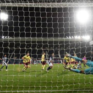 Football: West Brom hold Burnley to battling 0-0 draw