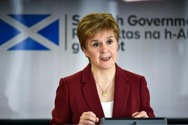 Nicola Sturgeon in furious rant over England Covid comparison: 'We are doing it better!'