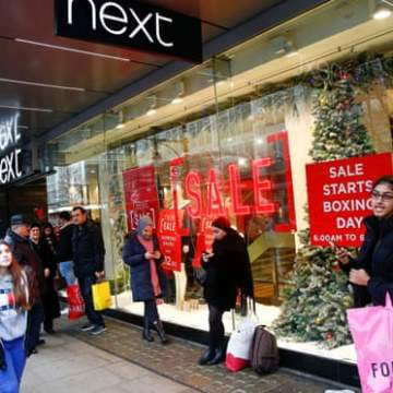UK shoppers to spend 27% less than last year in Boxing Day sales