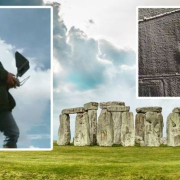 Stonehenge discovery: 'Hidden features' of 'invisible' site uncovered with drone flyover
