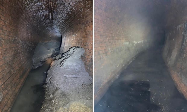 Workers clear 'huge, disgusting' fatberg from London sewer